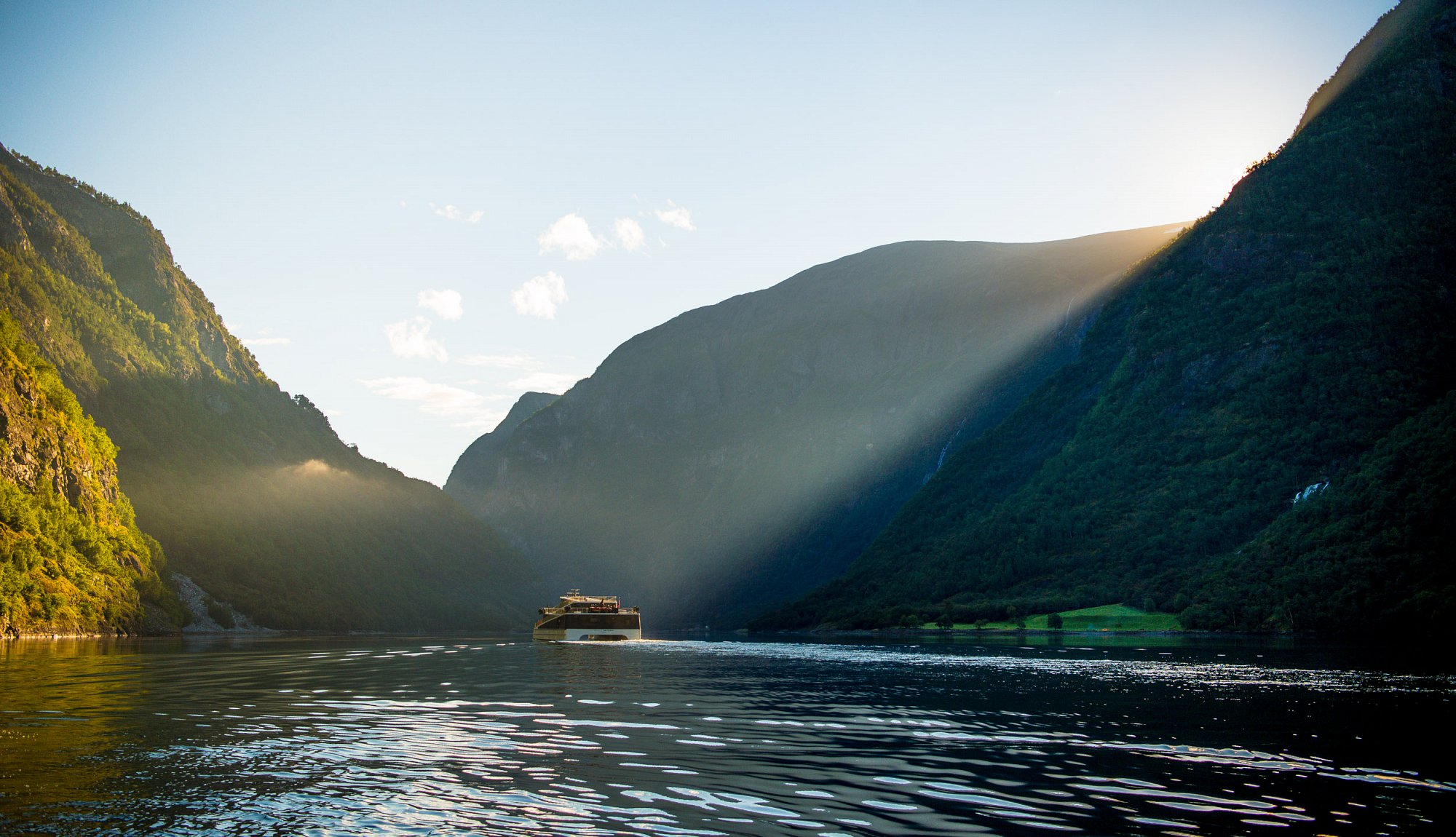 UNESCO World Heritage landscape in one of the most popular fjord areas in Norway.